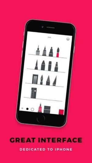 iPhone、iPadアプリ「Tayasui Sketches」のスクリーンショット 2枚目
