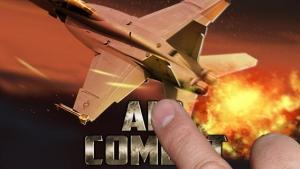 iPhone、iPadアプリ「アルファエアーコンバット:HDジェット戦争」のスクリーンショット 1枚目