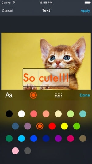 iPhone、iPadアプリ「Musemag Photo Studio FX」のスクリーンショット 3枚目