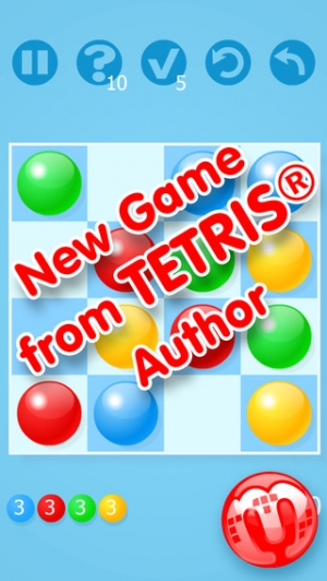 iPhone、iPadアプリ「Marbly - new puzzle game from Tetris inventor Alexey Pajitnov」のスクリーンショット 1枚目
