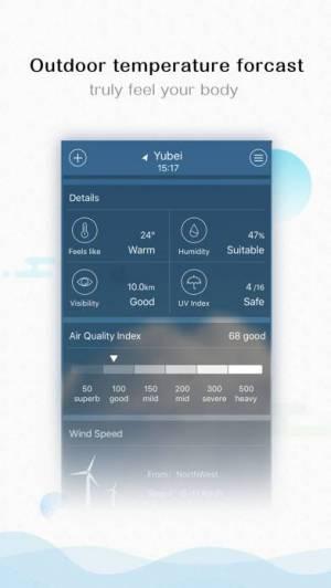 iPhone、iPadアプリ「Weather - 10 days forecast」のスクリーンショット 3枚目
