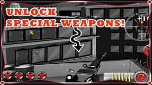 iPhone、iPadアプリ「A Stickman Sniper - 無料 射撃 アサシン ゲーム」のスクリーンショット 5枚目