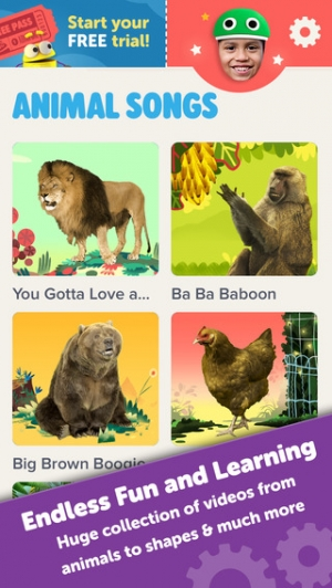 iPhone、iPadアプリ「Starring You Videos by StoryBots – Personalized For Kids」のスクリーンショット 1枚目