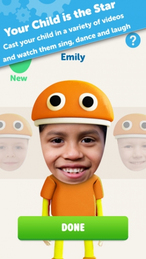 iPhone、iPadアプリ「Starring You Videos by StoryBots – Personalized For Kids」のスクリーンショット 3枚目