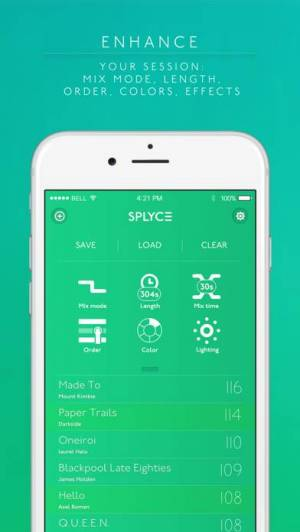 iPhone、iPadアプリ「Splyce - automix with effects」のスクリーンショット 2枚目