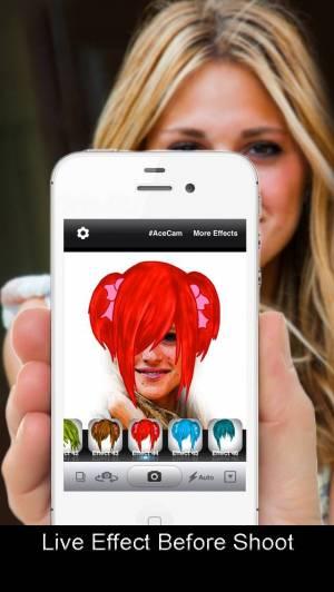 iPhone、iPadアプリ「AceCam Comic - Photo Effect for Instagram」のスクリーンショット 2枚目