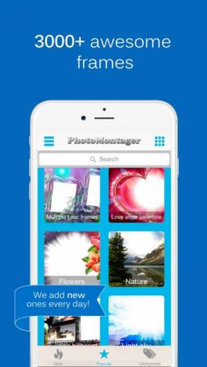 iPhone、iPadアプリ「PhotoMontager」のスクリーンショット 1枚目