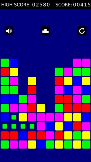 iPhone、iPadアプリ「Simple Color Puzzle」のスクリーンショット 1枚目