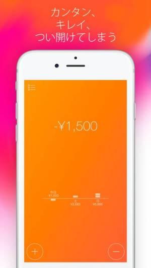 iPhone、iPadアプリ「「毎日の予算」」のスクリーンショット 2枚目