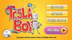 iPhone、iPadアプリ「テスラの少年 - ロボットの時間旅行」のスクリーンショット 1枚目