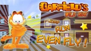 iPhone、iPadアプリ「Garfield's Wild Ride」のスクリーンショット 1枚目