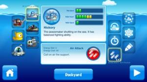 iPhone、iPadアプリ「深海BASARA~潜水艦大戦争」のスクリーンショット 4枚目