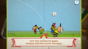 iPhone、iPadアプリ「Charlie Brown's All Stars! - Peanuts Read and Play」のスクリーンショット 2枚目