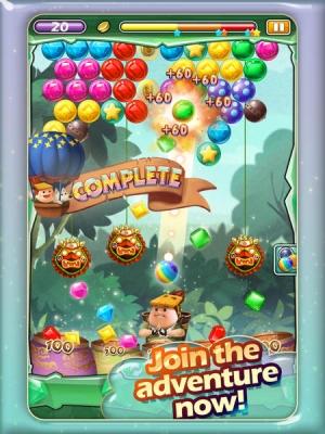 iPhone、iPadアプリ「Ace Jewel Shooter HD Pro」のスクリーンショット 2枚目