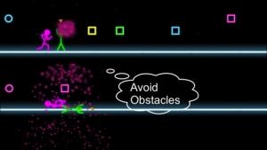 iPhone、iPadアプリ「Neon Run」のスクリーンショット 5枚目