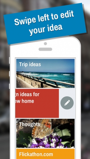 iPhone、iPadアプリ「IDEAZ - Keep your ideas in one place」のスクリーンショット 2枚目