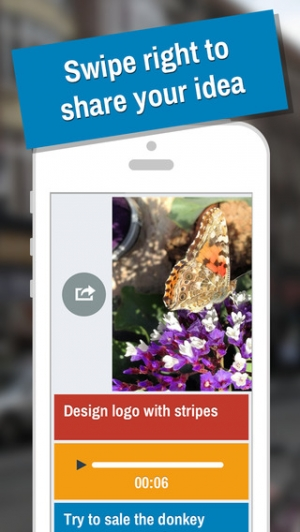 iPhone、iPadアプリ「IDEAZ - Keep your ideas in one place」のスクリーンショット 4枚目
