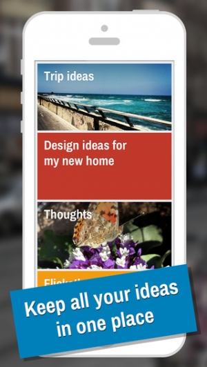 iPhone、iPadアプリ「IDEAZ - Keep your ideas in one place」のスクリーンショット 1枚目