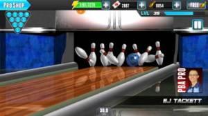 iPhone、iPadアプリ「PBA® Bowling Challenge」のスクリーンショット 2枚目