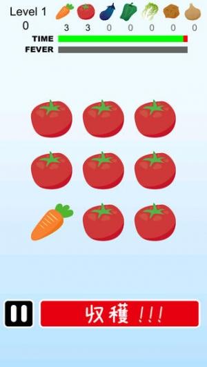 iPhone、iPadアプリ「野菜収穫」のスクリーンショット 3枚目