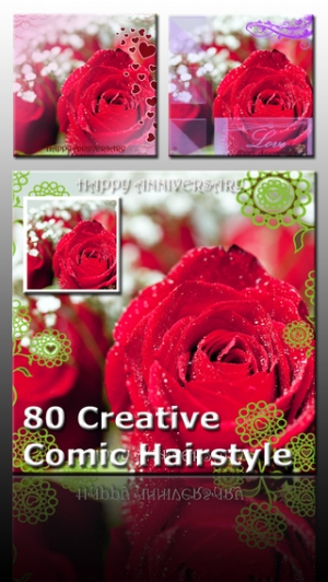 iPhone、iPadアプリ「AceCam Anniversary Greetings - Pic Effect for Instagram」のスクリーンショット 2枚目