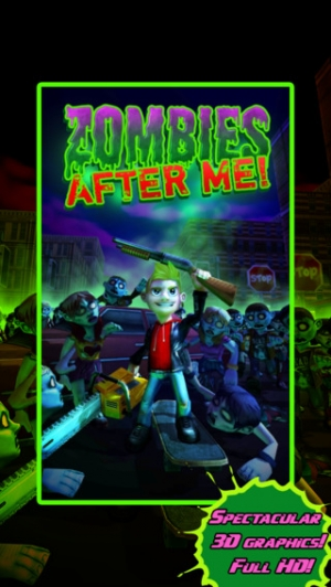 iPhone、iPadアプリ「Zombies After Me!」のスクリーンショット 1枚目
