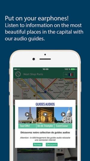 iPhone、iPadアプリ「Next Stop Paris – RATP」のスクリーンショット 4枚目