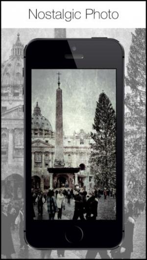 iPhone、iPadアプリ「Retro 360 Camera - ヴィンテージ黒白写真フィルタとエフェクトエディタ」のスクリーンショット 3枚目