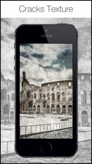 iPhone、iPadアプリ「Retro 360 Camera - ヴィンテージ黒白写真フィルタとエフェクトエディタ」のスクリーンショット 5枚目