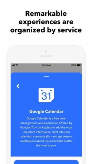 iPhone、iPadアプリ「IFTTT」のスクリーンショット 5枚目