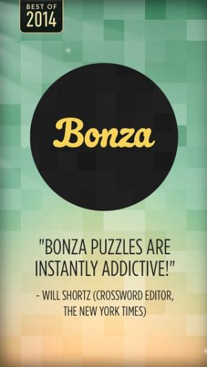 iPhone、iPadアプリ「Bonza Word Puzzle」のスクリーンショット 1枚目