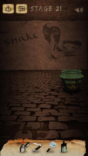 iPhone、iPadアプリ「謎解き脱出ゲーム Curse of the Pharaohs」のスクリーンショット 5枚目