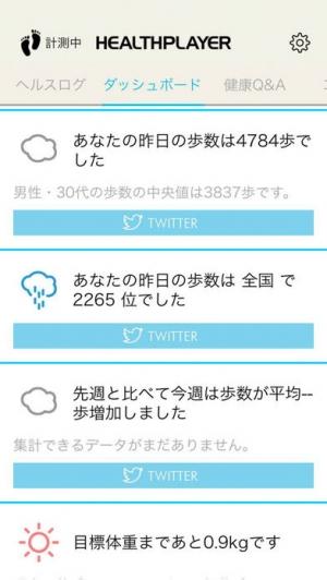 iPhone、iPadアプリ「HealthPlayer」のスクリーンショット 3枚目