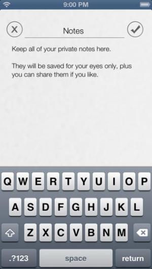 iPhone、iPadアプリ「ロック - プライベート写真、ビデオ、ノートを安全なパスワードマネージャーで保護します」のスクリーンショット 4枚目