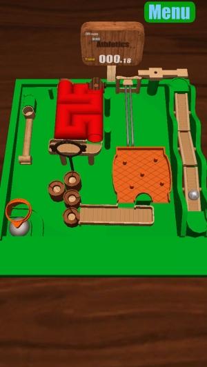 iPhone、iPadアプリ「アスレチックボール」のスクリーンショット 3枚目