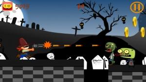 iPhone、iPadアプリ「A Zombie World War - 自由のためのゾンビゲーム」のスクリーンショット 2枚目