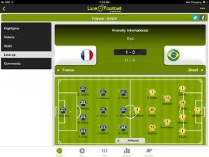 iPhone、iPadアプリ「サッカーライブHD」のスクリーンショット 4枚目