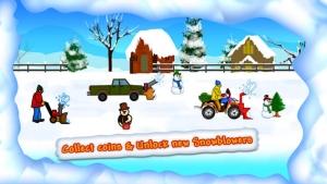 iPhone、iPadアプリ「怒っNeibourgs 2:Snowblowersの復讐無料エピソードを戦う」のスクリーンショット 3枚目