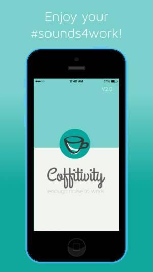 iPhone、iPadアプリ「Coffitivity」のスクリーンショット 4枚目