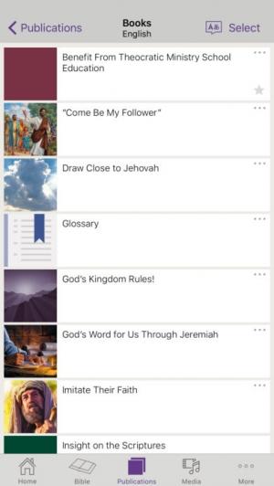 iPhone、iPadアプリ「JW Library」のスクリーンショット 3枚目