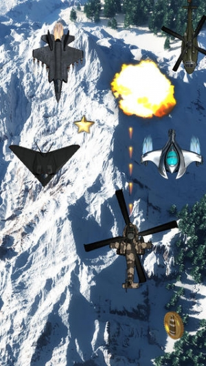 iPhone、iPadアプリ「Apache War Helicopter - Apache 戦争ヘリコプター」のスクリーンショット 4枚目