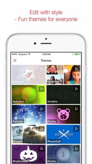 iPhone、iPadアプリ「MixBit - Collaborative Video.」のスクリーンショット 2枚目