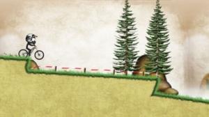 iPhone、iPadアプリ「Stickman Downhill」のスクリーンショット 2枚目