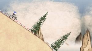 iPhone、iPadアプリ「Stickman Downhill」のスクリーンショット 1枚目