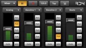 iPhone、iPadアプリ「RD4 - Groovebox」のスクリーンショット 1枚目