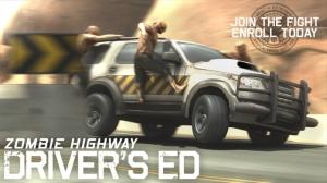 iPhone、iPadアプリ「Zombie Highway: Driver's Ed」のスクリーンショット 1枚目