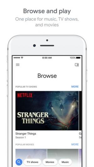 iPhone、iPadアプリ「Google Home」のスクリーンショット 3枚目