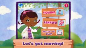 iPhone、iPadアプリ「Doc McStuffins: Moving with Doc」のスクリーンショット 1枚目