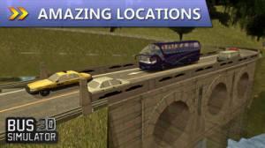 iPhone、iPadアプリ「Bus Simulator 3D」のスクリーンショット 3枚目