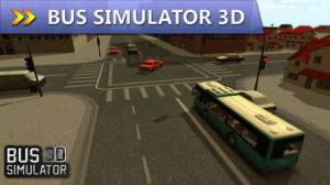 iPhone、iPadアプリ「Bus Simulator 3D」のスクリーンショット 1枚目